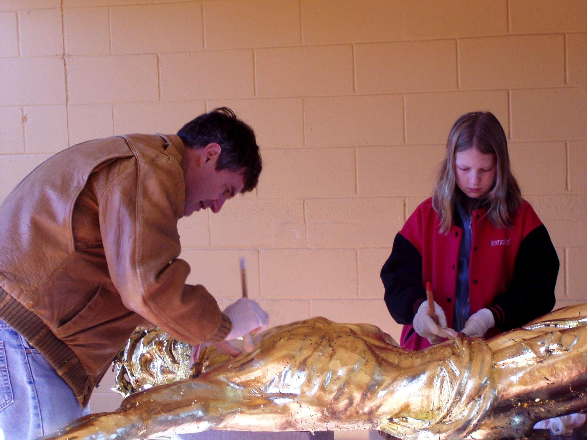 victorious christ restoration albin polasek museum u0026 sculpture