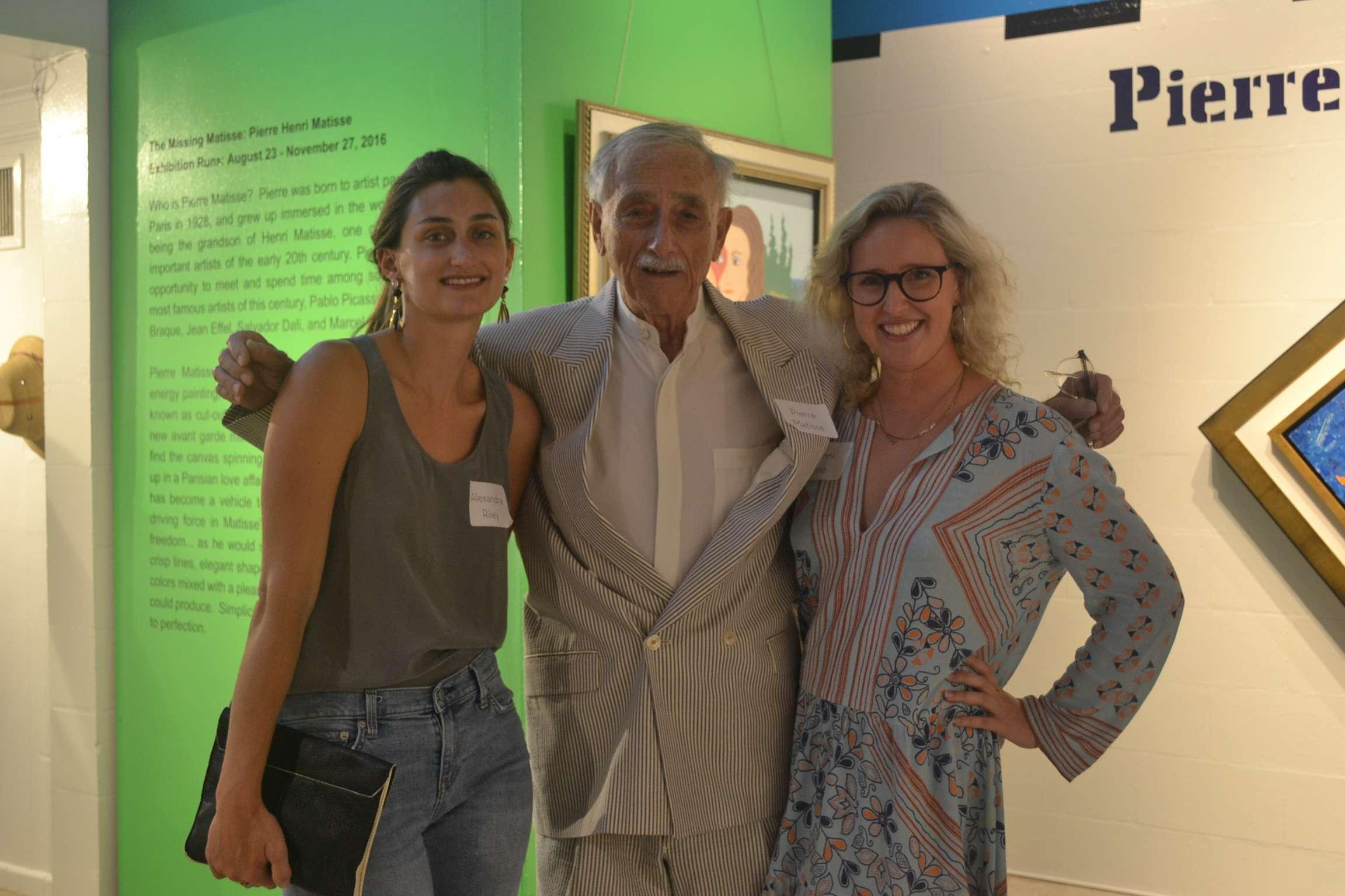 Pierre Matisse and Guests - Albin Polasek Museum & Sculpture Gardens